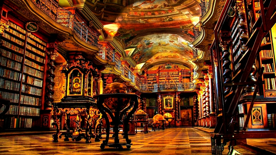 Clementinum Library in Prague