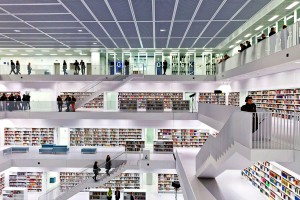 University of Aberdeen New Library in Scotland